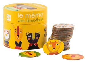 Moulin Roty - Memo de emociones Popipop