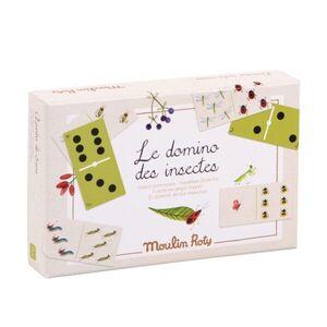 Moulin Roty -Dominó de insectos. El Jardín