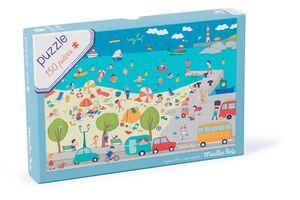 Moulin Roty - Puzzle En el mar - Hoy es Miércoles 150p