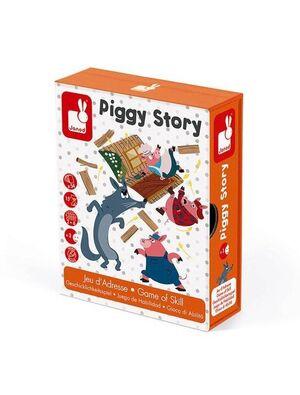 Janod - Piggy Story juego de habilidad