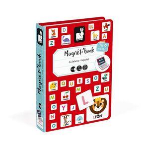 Janod - Magneticbook alfabeto español