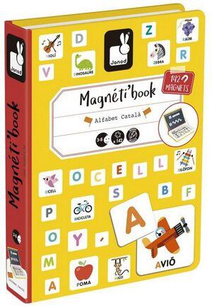 Janod - Magnetibook Alfabet Català