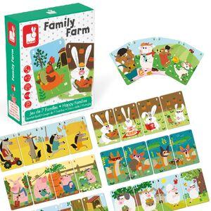 Janod - Familiy Farm (juego de 7 familias)