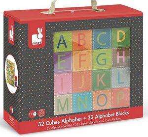 Janod - Cubos Alfabeto