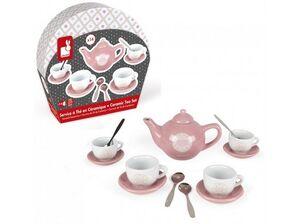 Hape - Set de té de cerámmica Macaron