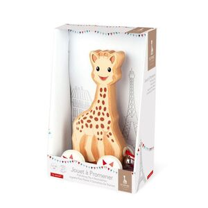 Janod - Juguete Para Pasear Sophie la Girafe (madera)
