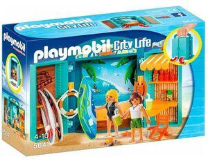 Playmobil - Cofre tienda de surf