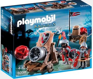 Playmobil - Caballeros cañon