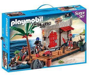 Playmobil - Superset Fuerte pirata