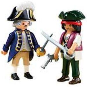 Playmobil - duo pack pirata y soldado