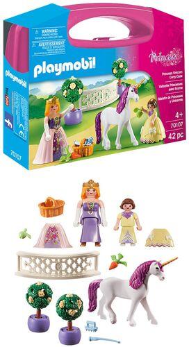 Playmobil - maletín princesas y unicornio