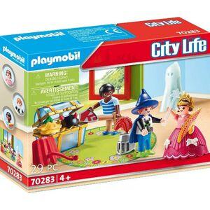 Playmobil City Life -  niños con disfraces