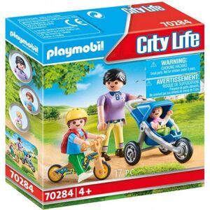 Playmobil City Life - Mamá con Niños