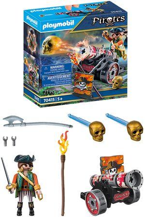 Playmobil - pirata con cañon