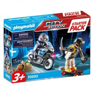 Playmobil - Starter Pack Policía Set Adicional City Action