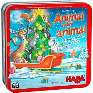 Haba - Animal sobre animal - un juego de navideño de apilar