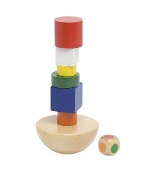 Goki - Torre de equilibrio en bolsa algodón