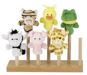 Toys pure Marionetas dedo Animales