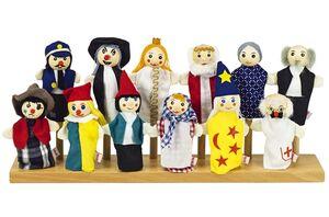 Toys pure - Marioneta de mano (surtido1)