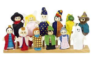 Goki - Muñeco marioneta de dedo (serie 2)