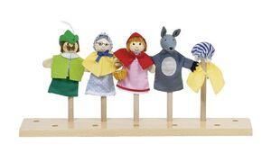 Goki - Marionetas dedo Caperucita roja