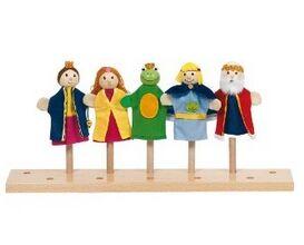 GOKI - El rey de las ranas - Marionetas dedo