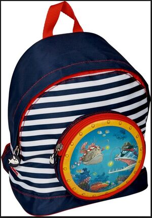 Spiegelburg - Pequeña mochila Capitán Sharky