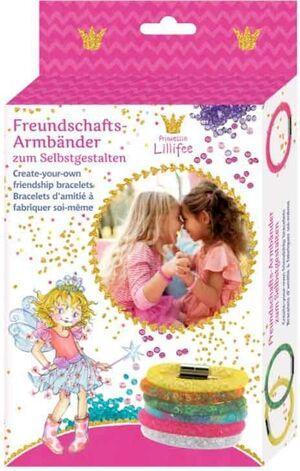 Spiegelburg - Crea tus propias pulseras de amistad- Princesa Lillifee