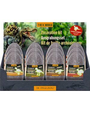 Spiegelburg - Set de excavación (brilla en la oscuridad) Mundo T-Rex