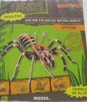 Puzzle 3D madera Araña