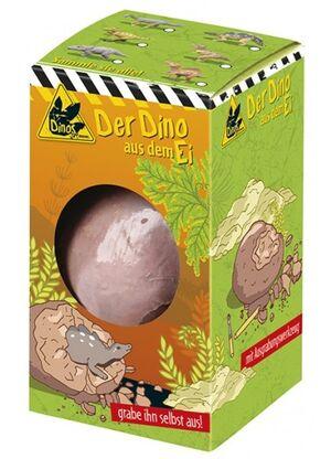Moses - Huevo excavación Dinosaurio (6 modelos)