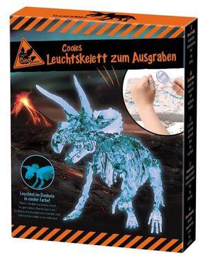 Moses- Esqueleto luminoso de dinosaurio para escavar surtido