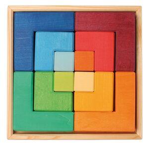 Grimm's - Puzzle 'cuadrado' (bloques de madera)