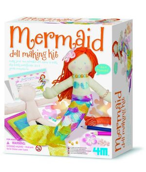 4M - Kit para hacer muñeca sirena Doll Making Kit/ Mermaid