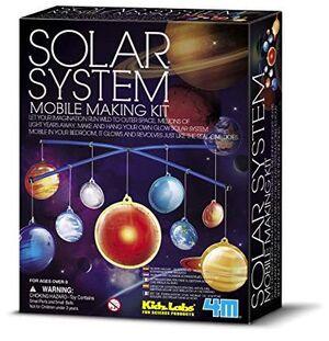 4M - Sistema solar Mobil brillante