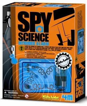 4M - Kit alarma - Spy science