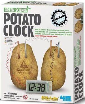 4M - Potato clock