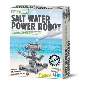 4M - Robot funcionando con agua salada