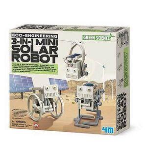 4M - 3 en 1 Robot Solar