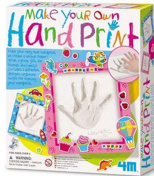 4M - Hand print