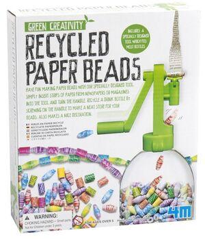 4M - Green Creativity cuentas bisutería recicladas