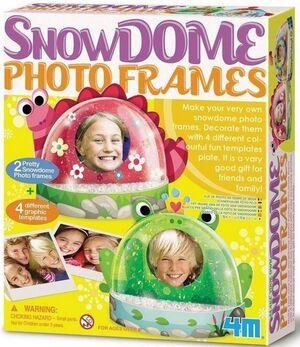 4M - Bola de nieve con foto