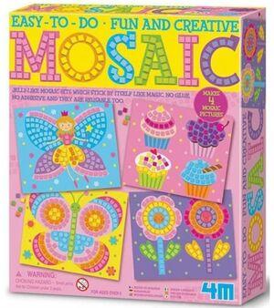 4M- Mosaic rosa
