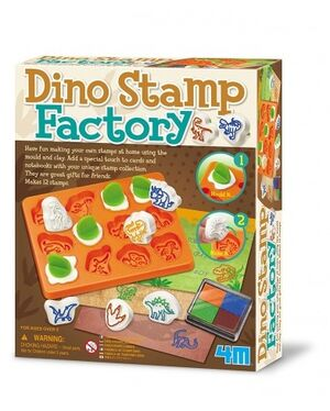 4M - Fábrica de sellos dinosaurio