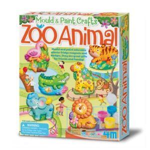 4M - Moldea y pinta animales del zoo