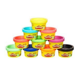 Plastilina Play-Doh pack 10 botes pequeños