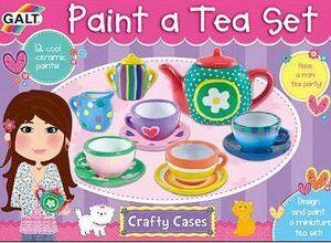 Galt - Paint a tea set decora juego de té