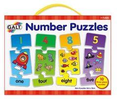Galt - Puzzles de números Numbers puzzle