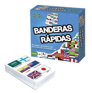 Juego de cartas Banderas rápidas