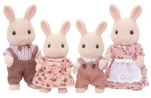 Sylvanian - Familia Conejos Blancos